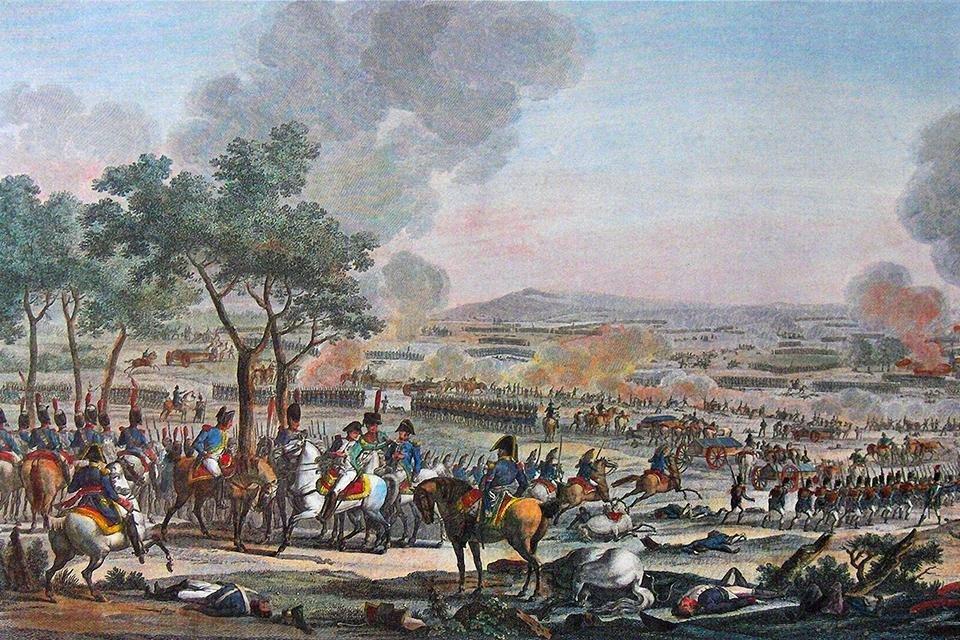 Slag bij Wagram, 1809, Oostenrijk
