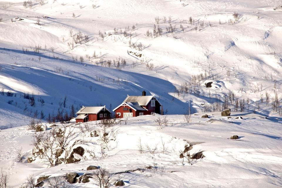 Huis in Noorwegen | foto door Peter van de Wiel