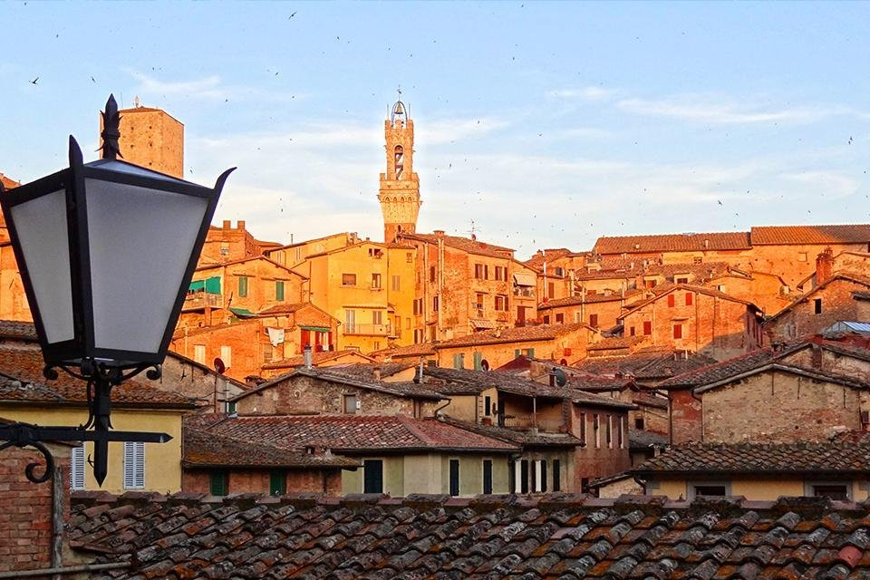 Siena, Toscane, Italië
