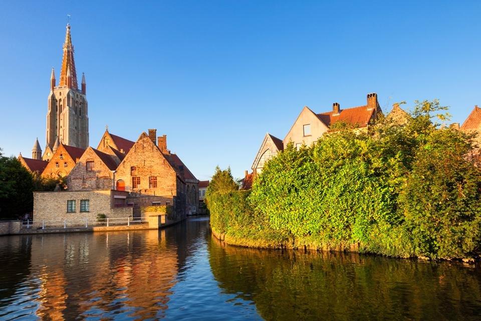 Onze-Lieve-Vrouwekerk in Brugge, België
