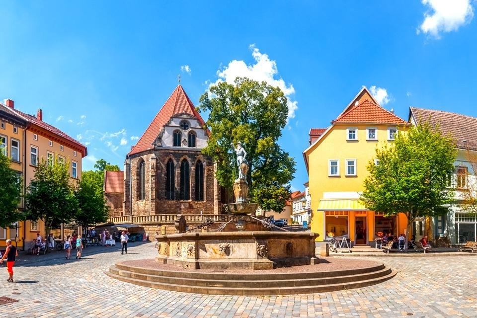 Arnstadt in Duitsland