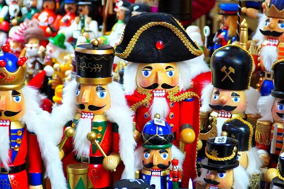 Notenkrakers, Kerstmannen, Duitsland