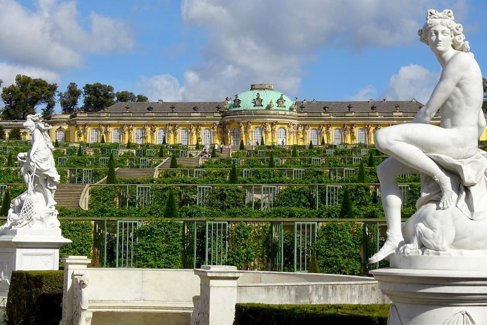 Park Sanssouci in Potsdam, Duitsland