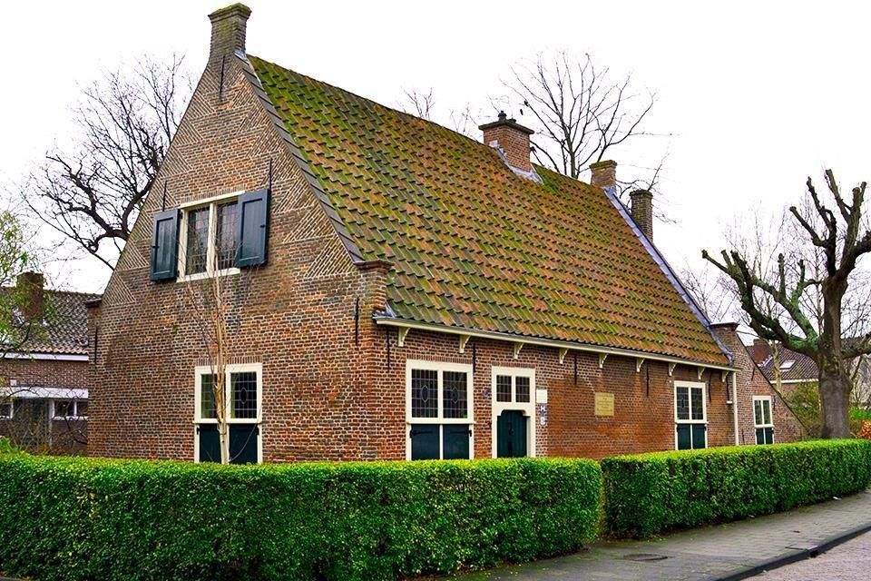 Het Spinozahuis in Rijnsburg, Nederland