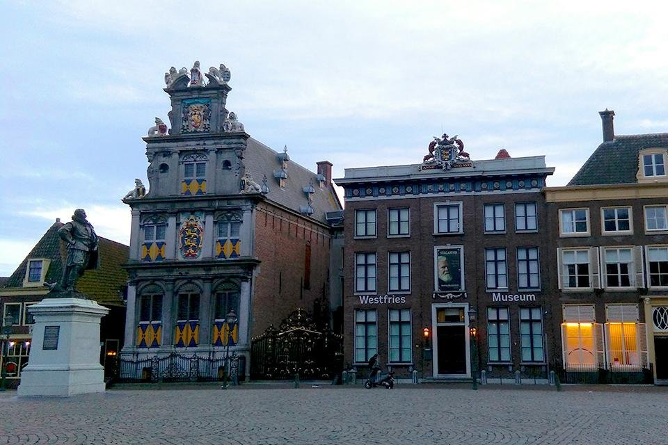 Westfries Museum in Hoorn, Nederland