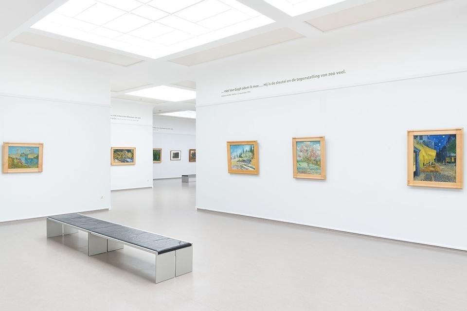 De Van Gogh Galerij in het Kröller-Müller Museum in Otterlo, Nederland, foto  Marjon Gemmeke