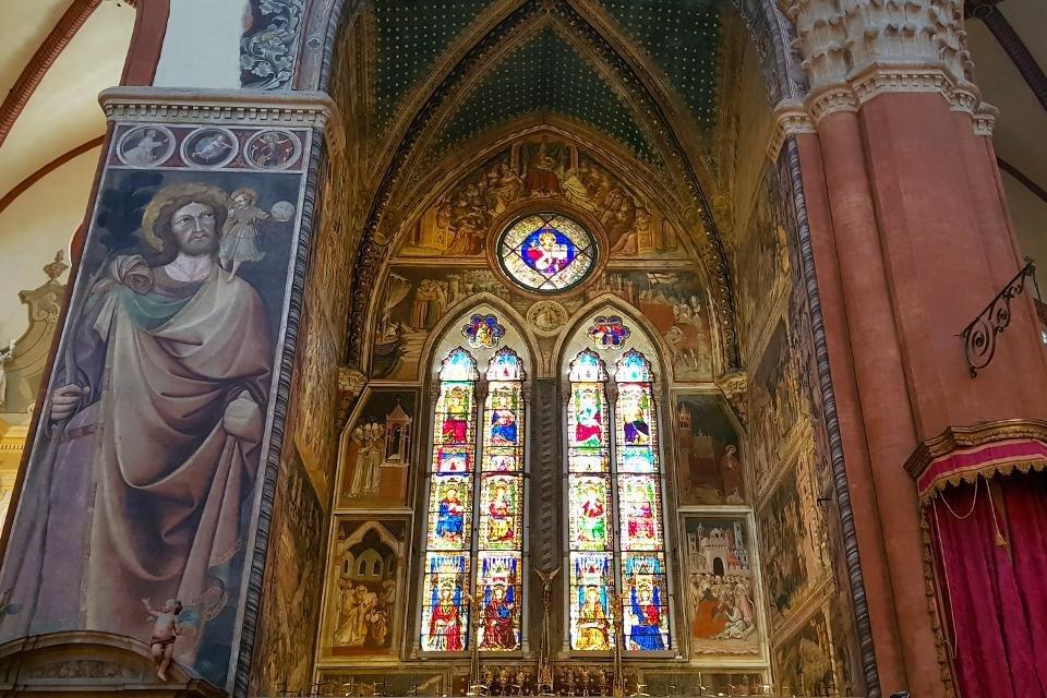 Bolognini-kapel in de San Petronio, Bologna, Italië