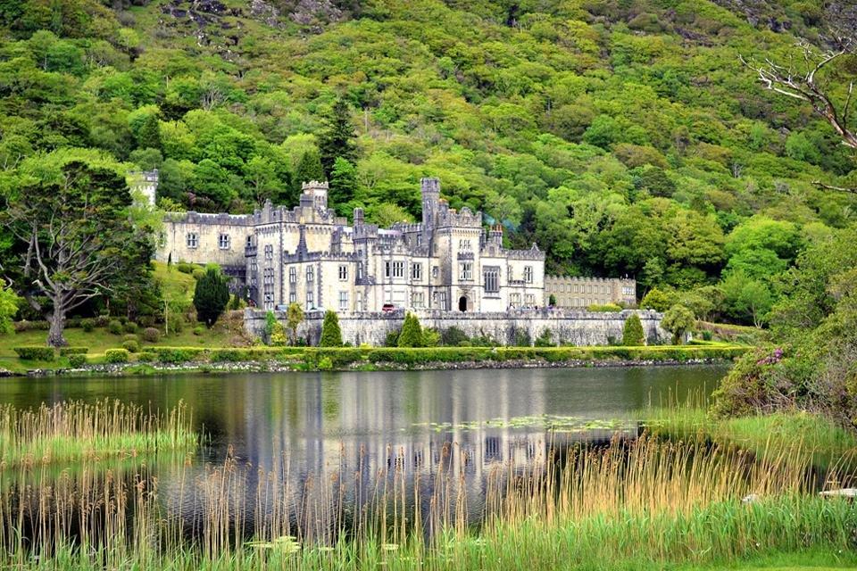 Kylemore Abbey, Connemare, Ierland