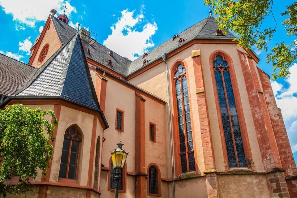 Sankt Stephanskirche in Mainz, Duitsland
