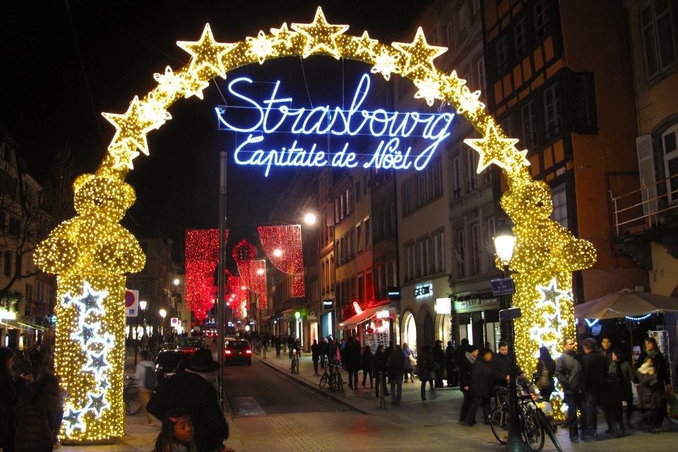 Capitale de Noël, Straatsburg in Frankrijk