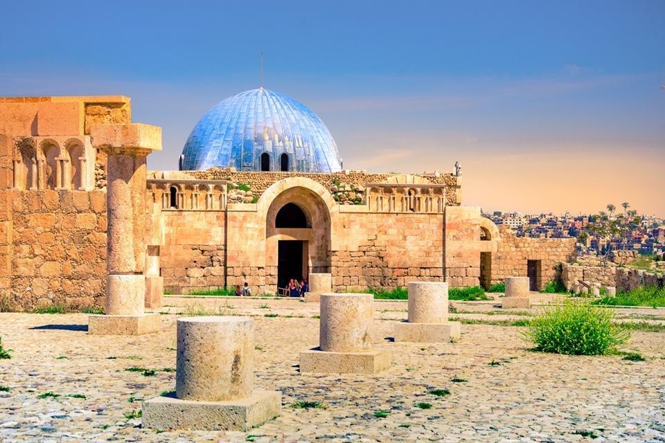 Citadel van Amman, Jordanië