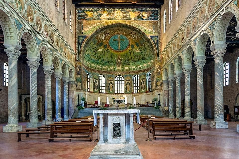 Sant'Apollinare in Classe, Ravenna, Italië
