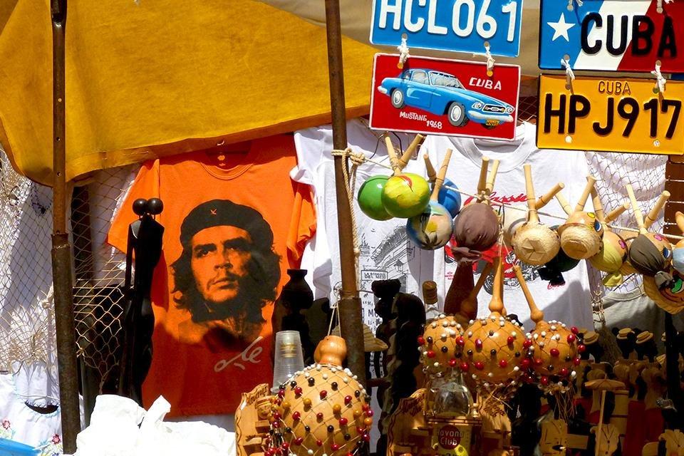 Souvenirs met Che Guevarra op Cuba