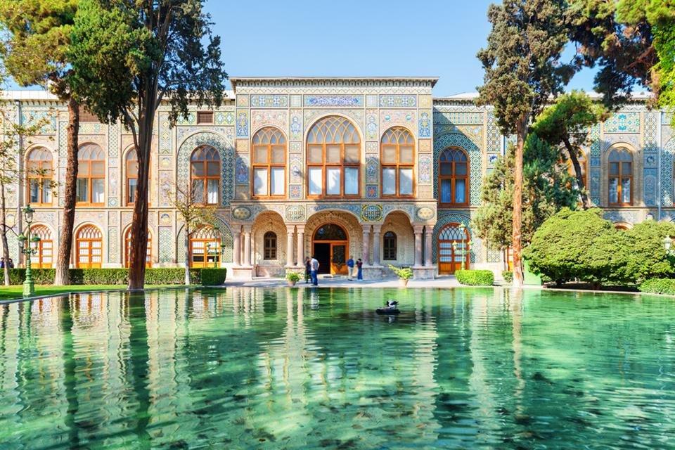 Golestanpaleis in Teheran, Iran