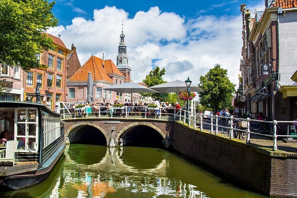 Centrum van Alkmaar, Nederland