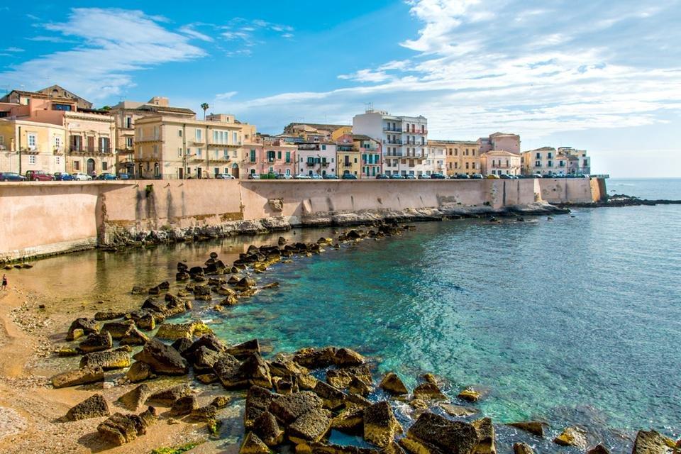 Syracuse op Sicilië, Italië