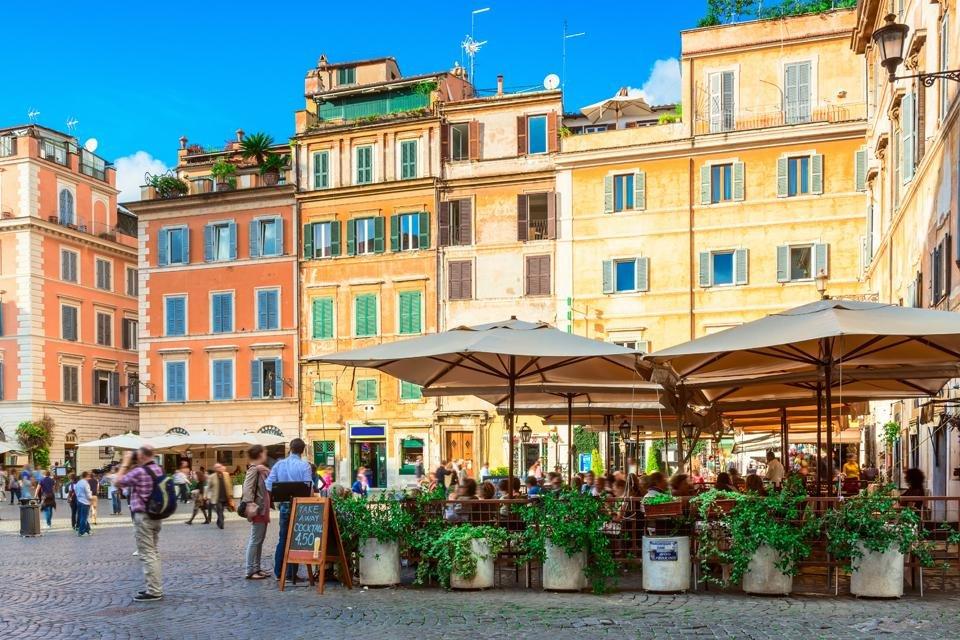 Trastevere in Rome, Italië
