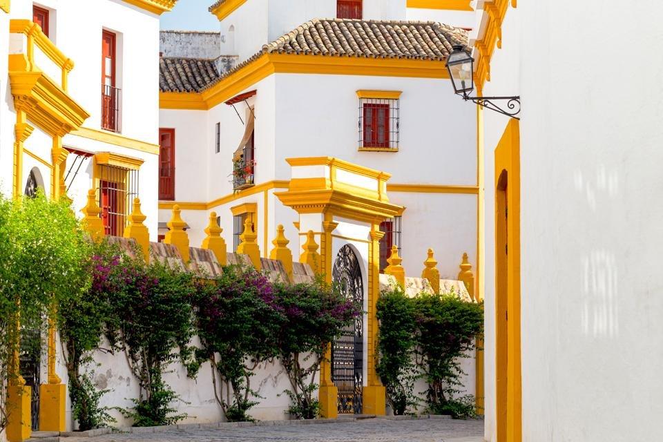 Santa Cruz in Sevilla, Andalusië, Spanje