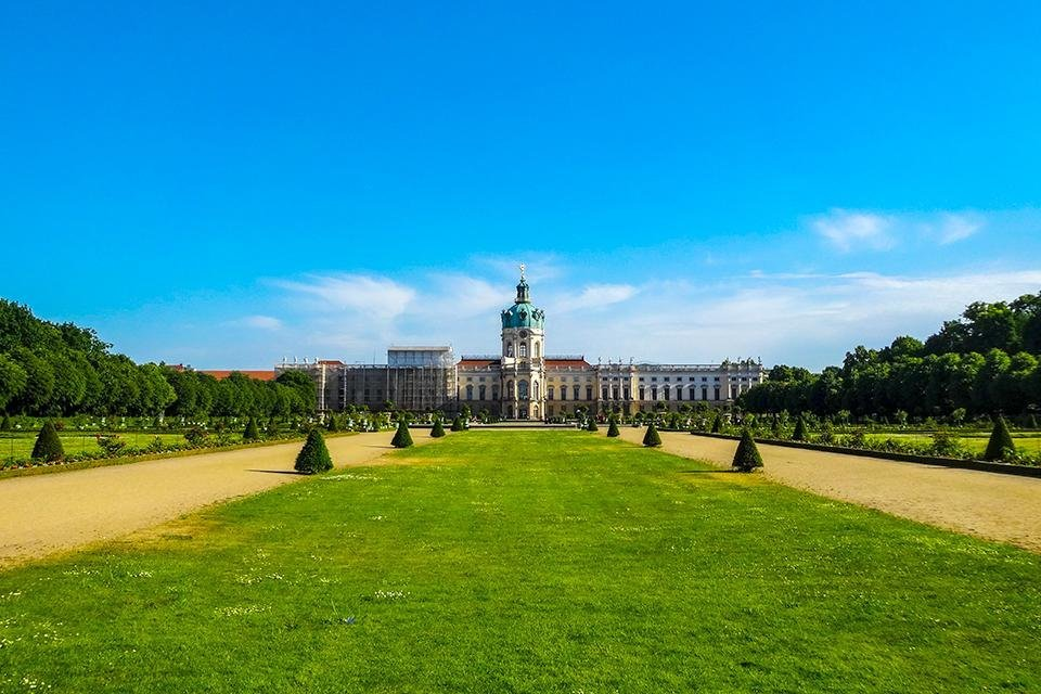 Schloss Charlottenburg in Berlijn, Duitsland