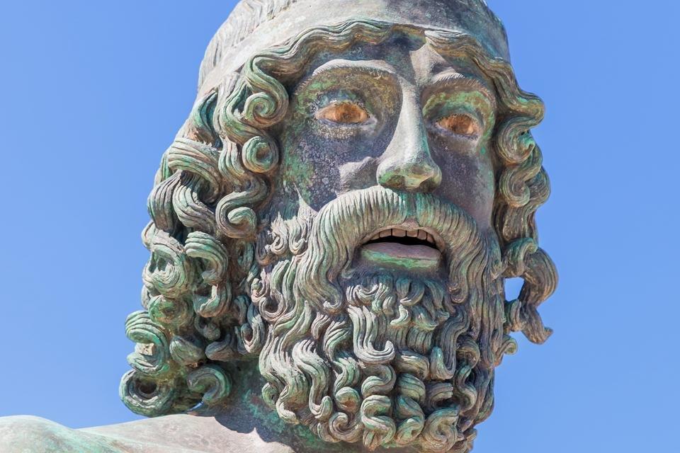 Bronzen van Riace, Italië