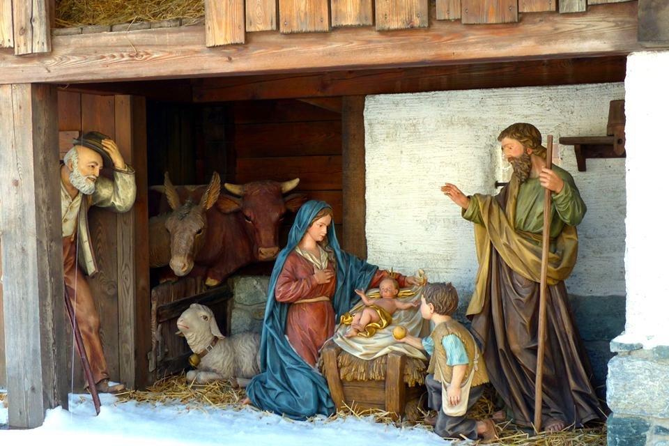 Kerststalletje in Spanje