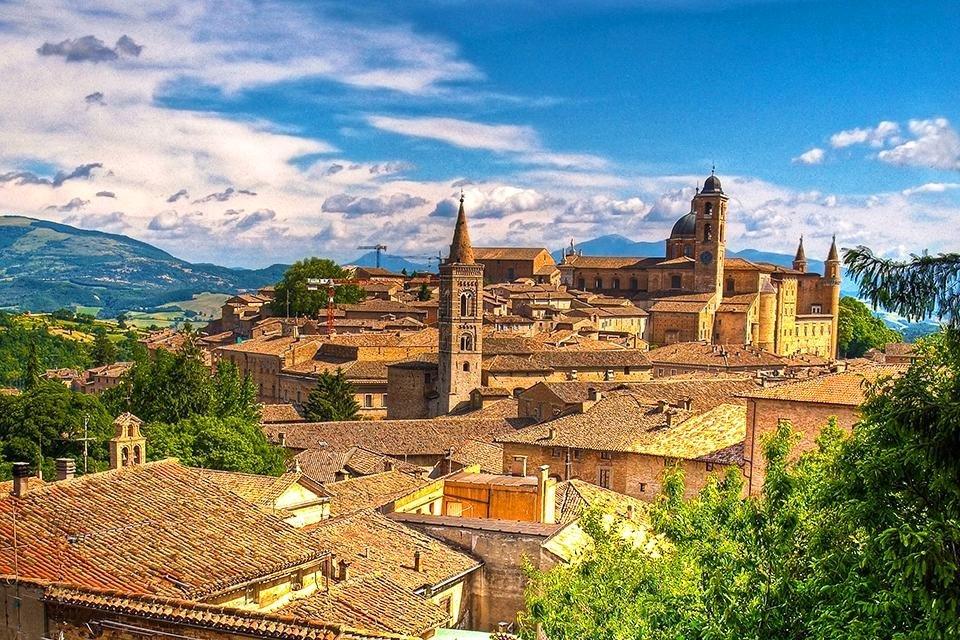 Urbino, De Marken, Italië