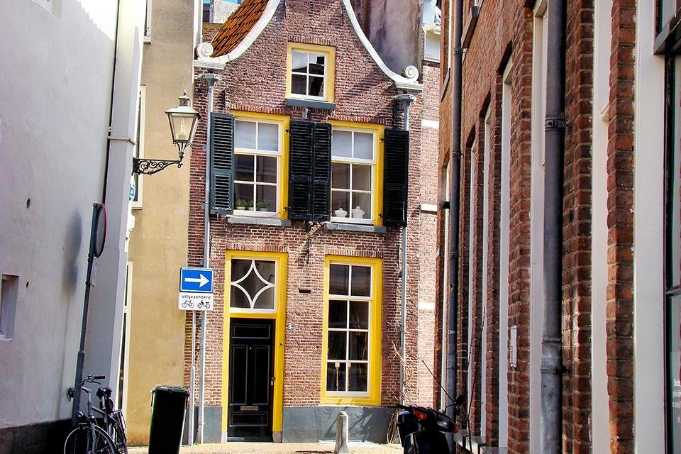 Binnenstad van Zwolle, Nederland