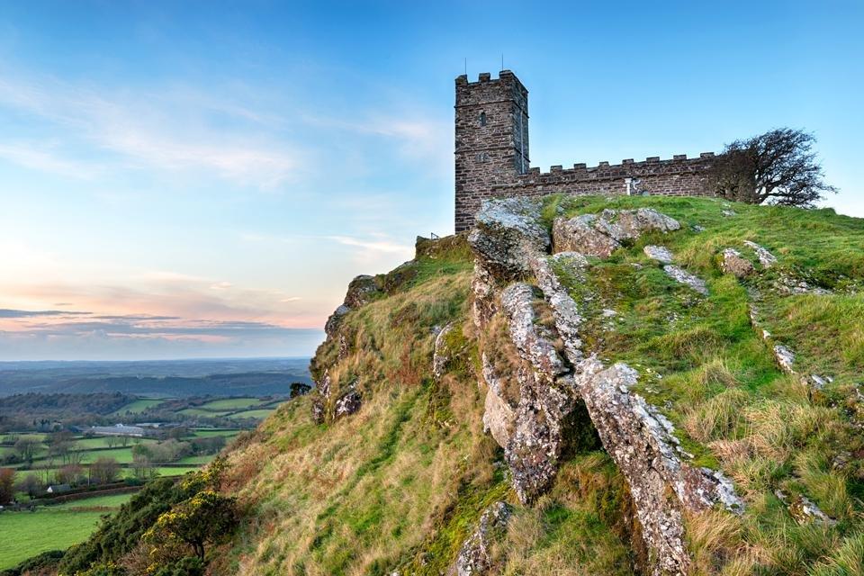 Dartmoor in Groot-Brittannië