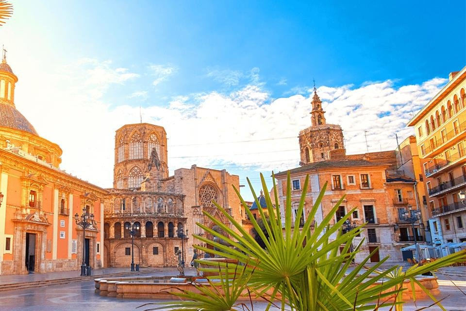 Midden en Oost Spanje