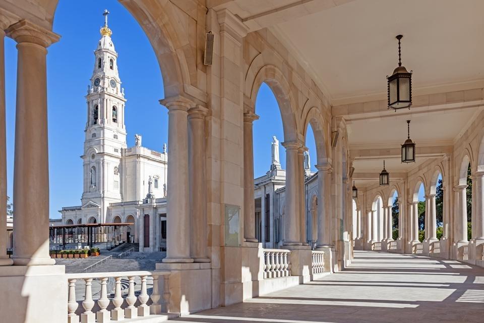 Het heiligdom van Fátima, Portugal