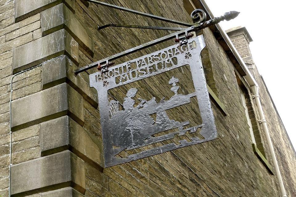 Brontë Parsonage Museum in Haworth, Groot-Brittannië