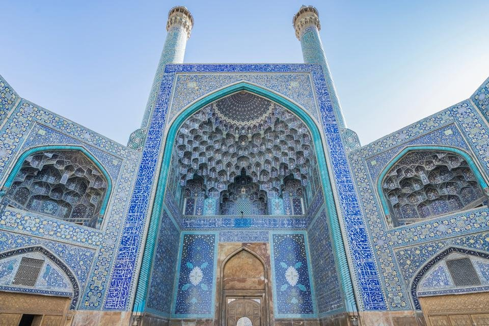 Jameh Moskee in Isfahan, Iran