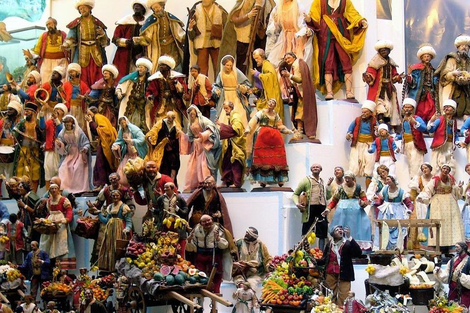 Figuren voor in de kerststal, Napels