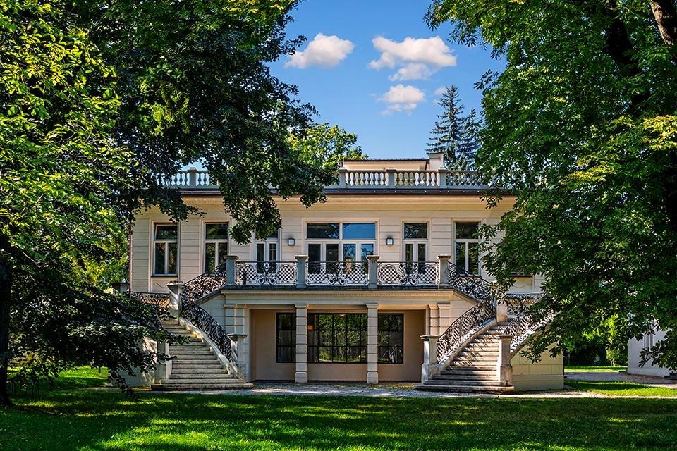 Villa van Klimt in Wenen, Oostenrijk