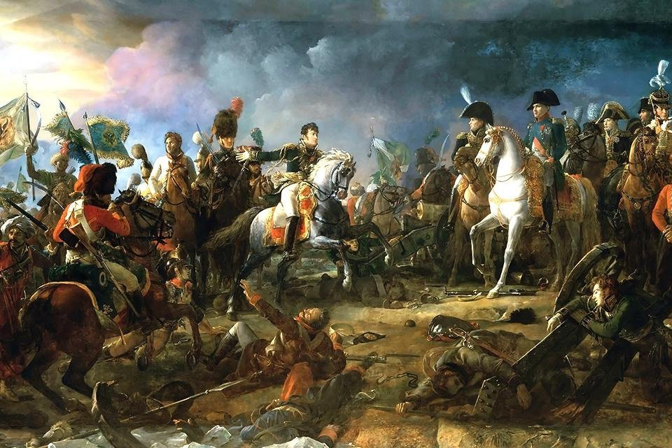 Slag bij Austerlitz, Napoleon, 1805