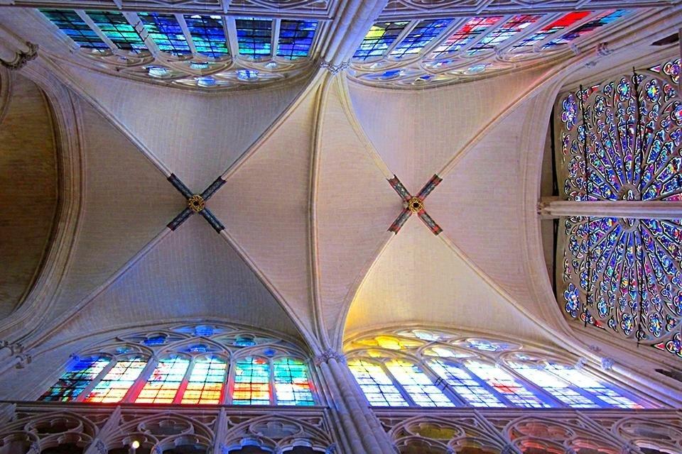 Kathedraal Saint-Gatien, Tours, Frankrijk