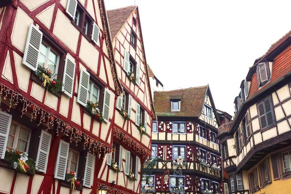 Straatsburg in Frankrijk