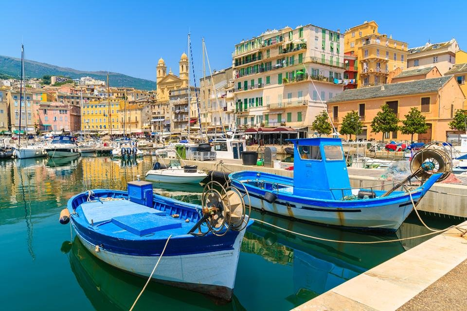 Bastia op Corsica, Frankrijk