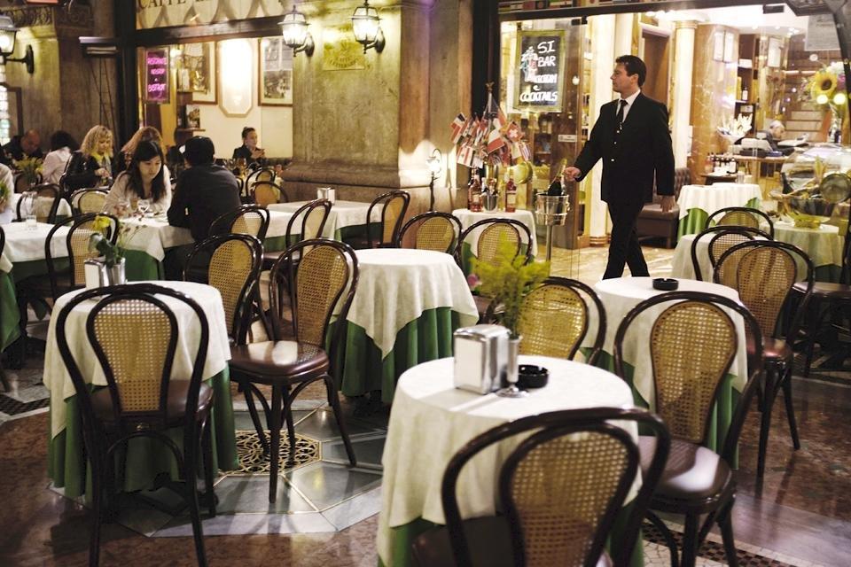 Restaurant in Milaan, Italië