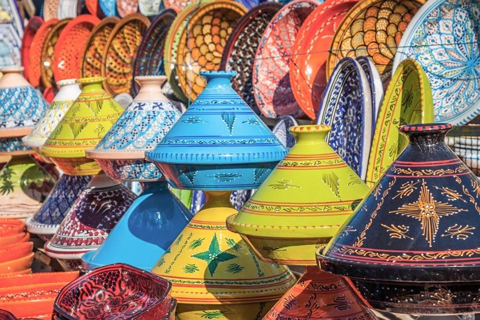Taijines in Marokko