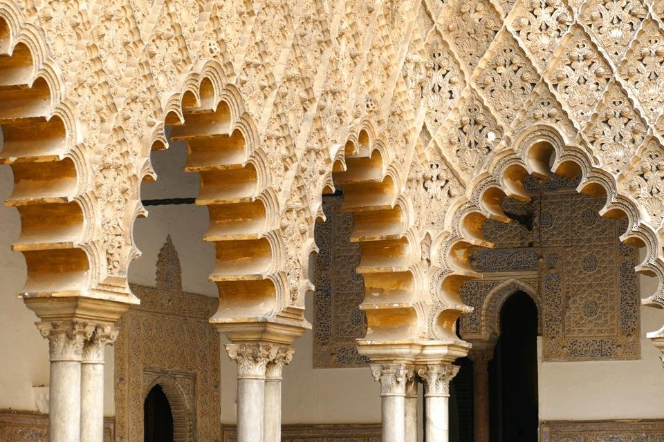 Real Alcázar in Sevilla, Spanje