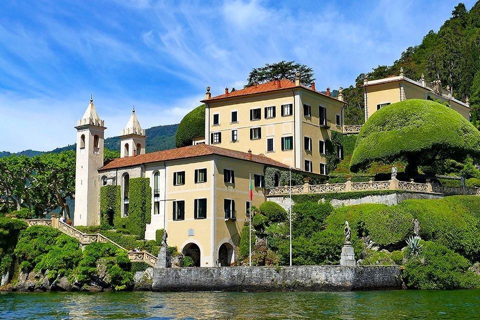 Villa Balbianello, Lago di Como, Italië