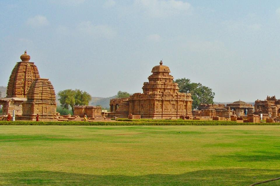 Tempel van Pattadakal in India