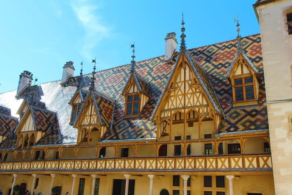 Hôtel-Dieu in Beaune, Frankrijk