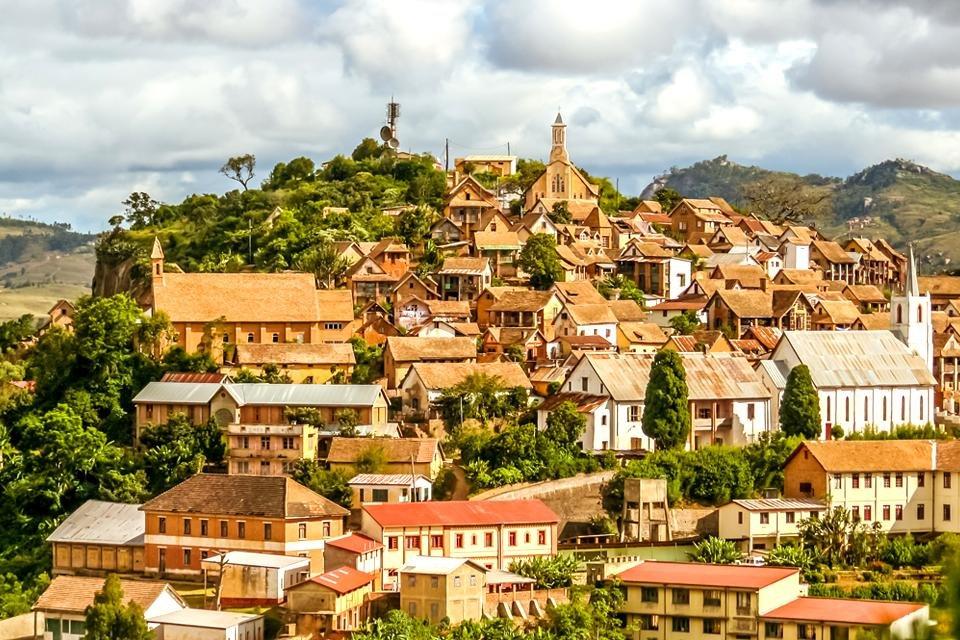 Fianarantsoa in Madagaskar