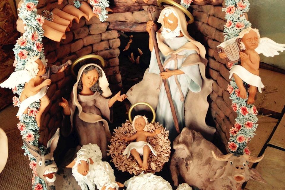 Portugese kerststal