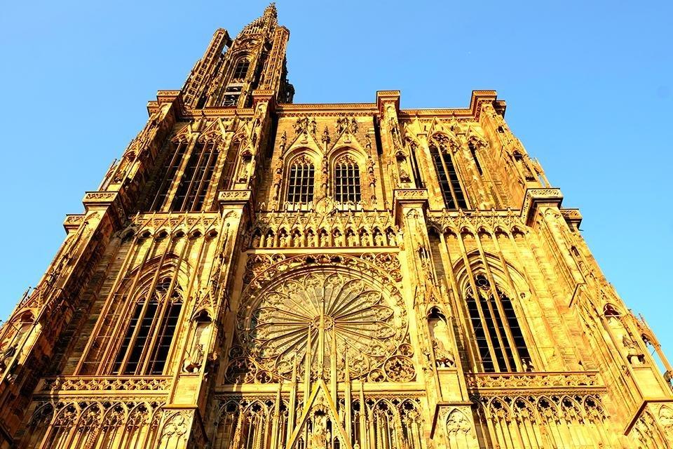 Kathedraal, Straatsburg, Elzas, Frankrijk