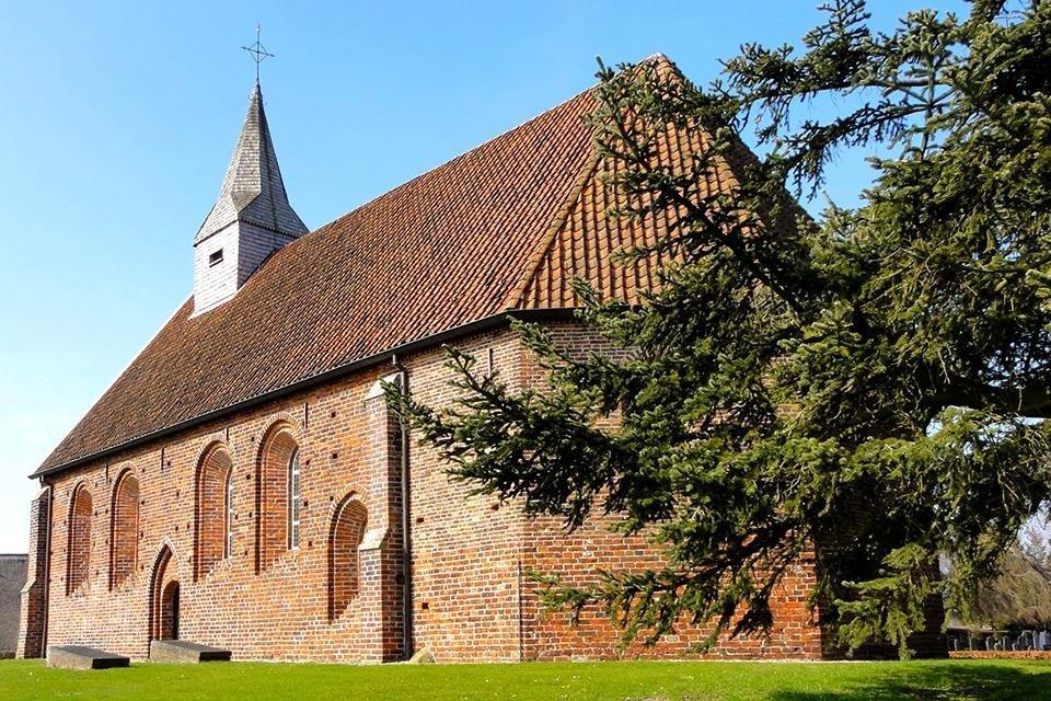 De Van Goghkerk in Zweeloo, Nederland