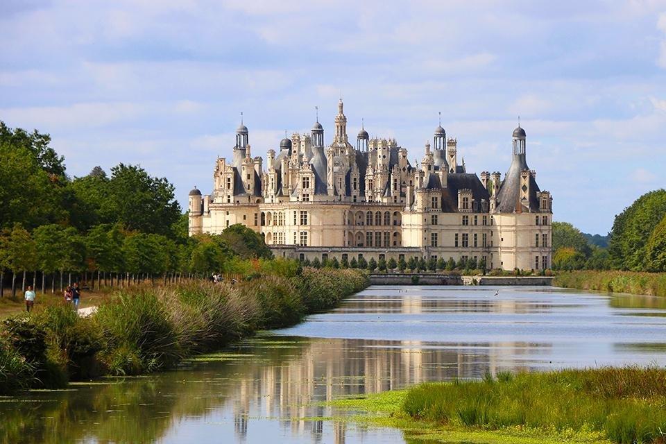 Château de Chambord, Loire, Frankrijk