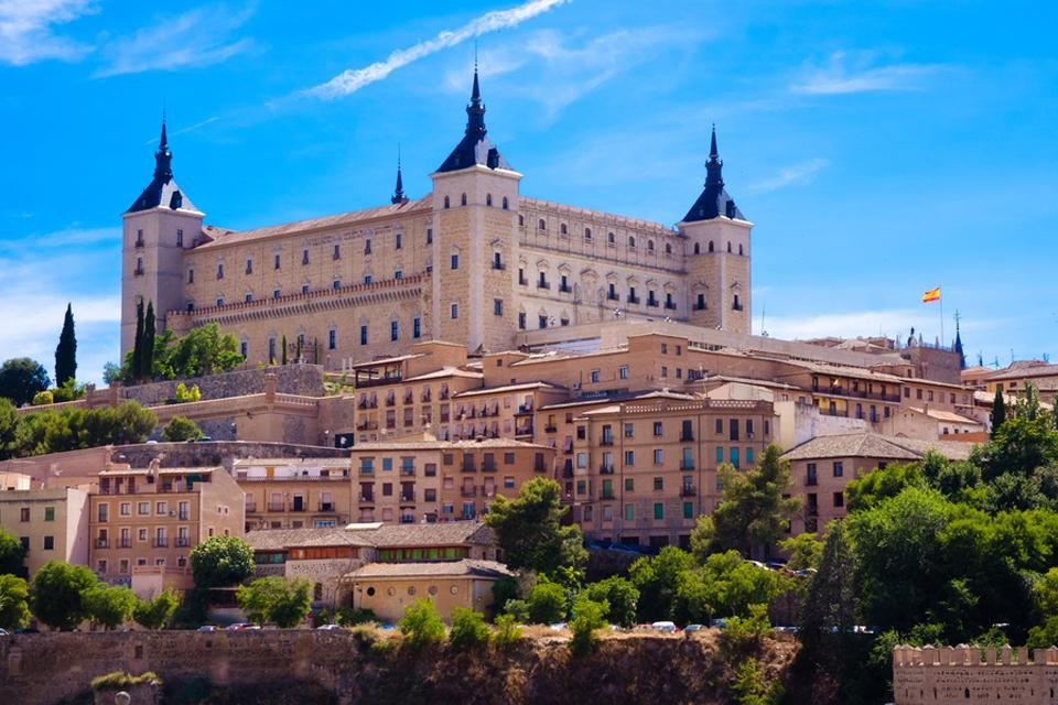 Het Alcazar van Toledo, Spanje
